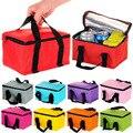 2016 Almoço Sacos Refrigerador Lancheira Térmica Lancheiras Isolados para mulheres Crianças Bolsa Térmica Lunch Box Food Bolsas Tote Bag 30