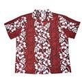 2016 Nuevo Estilo de Verano Sueltos Guapos Hombres Floral Camisa Casual Camisa Hawaiana Holiday Beach Party Camisa de Manga Corta de Hip Hop Tops