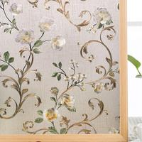 Funlife Static Window Film Privacy Self adhesive Window Sticker Decorative Window Tint Colored Removable Sun Blocking