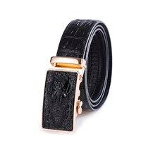 أزياء نمط blets للرجال ترف حقيقي بقرة جلد حزام حزام الذكور المعادن التلقائي إبزيم الأحزمة مصمم الرجال جودة عالية