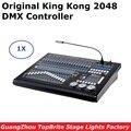 Новое сценическое осветительное оборудование King Kong 2048 DMX контроллер LED Par движущиеся фары консоль Поддержка до 200 шт. приспособления