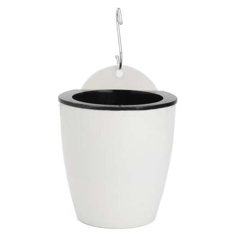 Самополивочный подвесной горшок для растений настенный садовый горшок