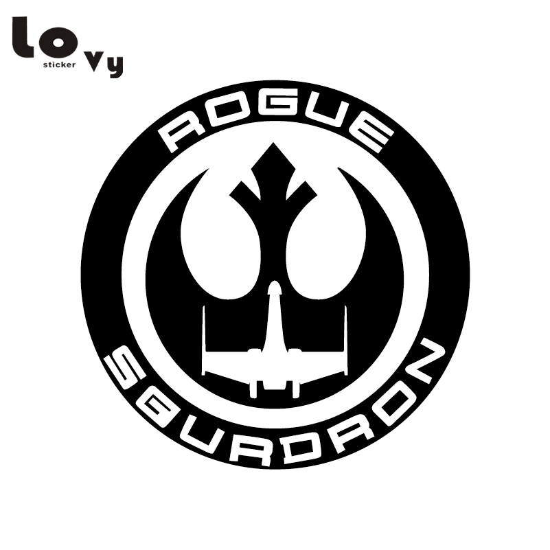 Classic Film Star Wars Car Sticker Rouge Squadron Vinyl Car Decal