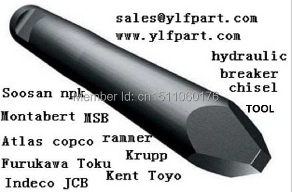 Stanley hydraulic breaker rock hammer tool price MB656