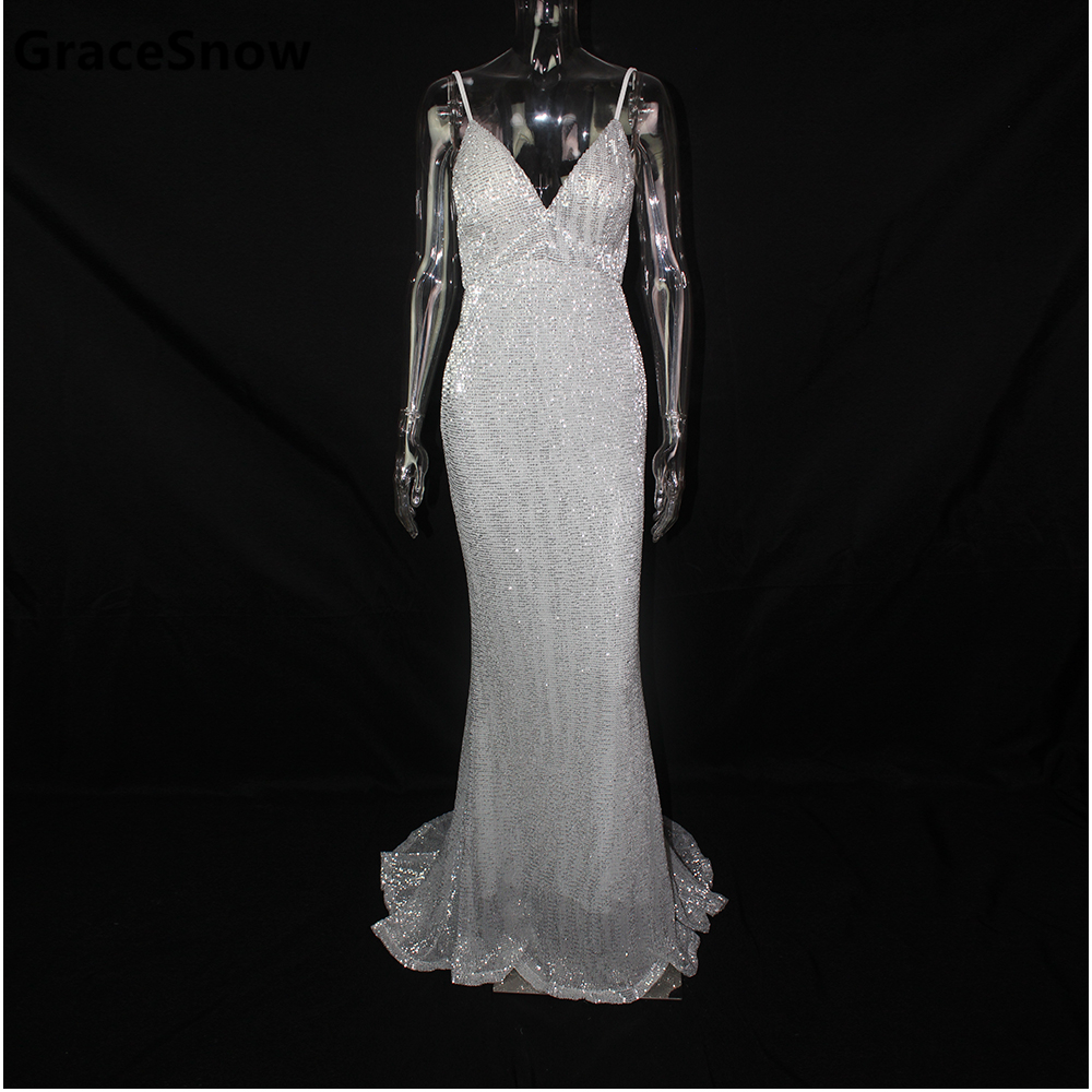 Buy silver blue party dress and get free shipping on AliExpress.com db3870983dbe