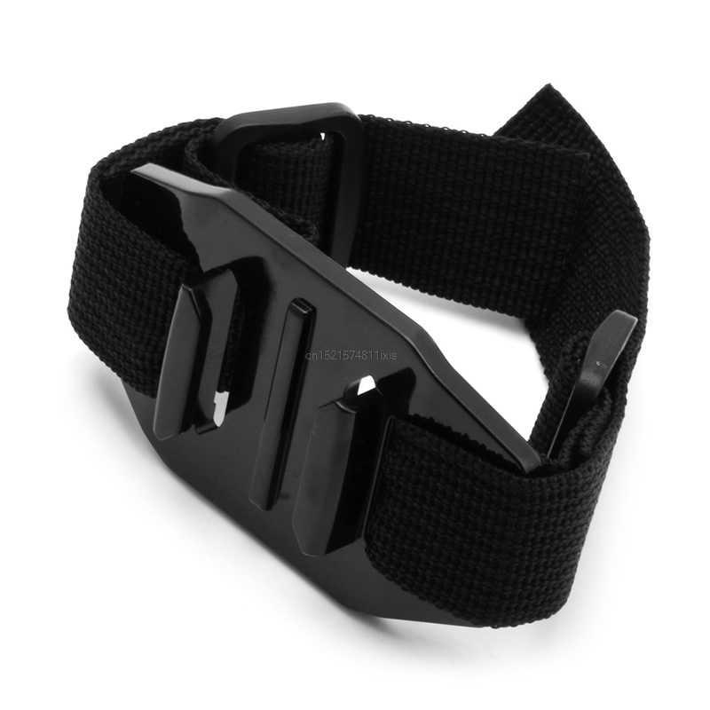 Новый универсальный вентилируемый с ремешком шлем Крепление Адаптер для Спортивная камера GoPro HD Hero 1 2 3