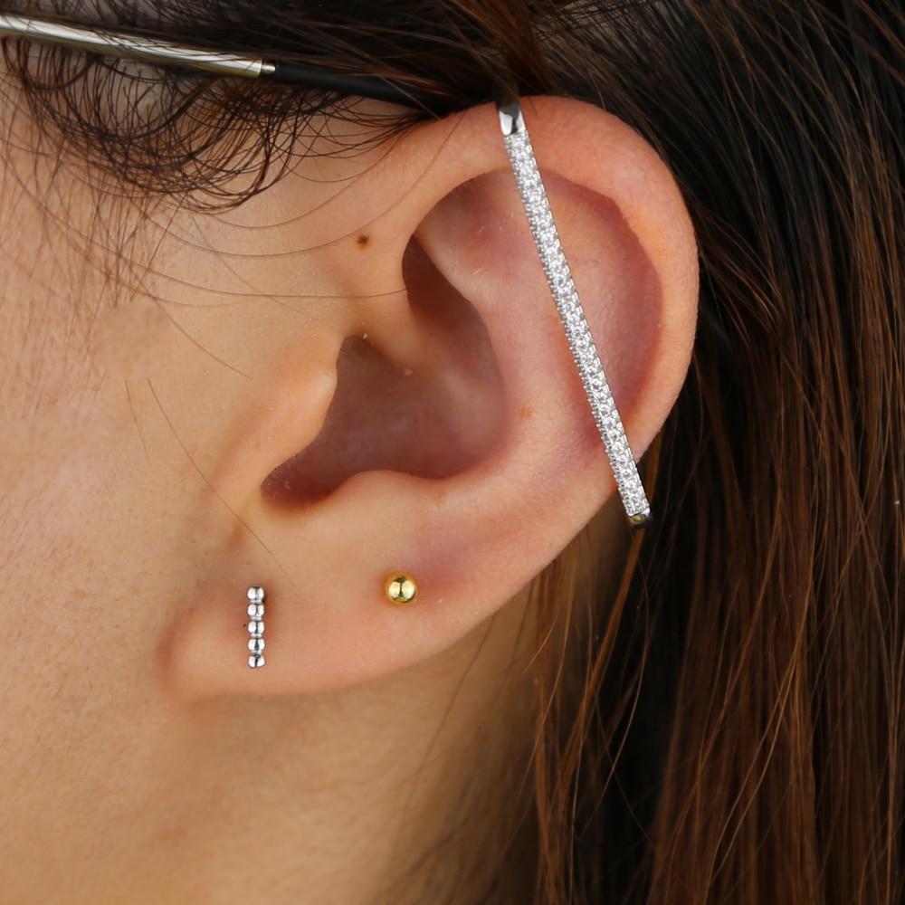 BRASS EAR CUFF  Y (11)