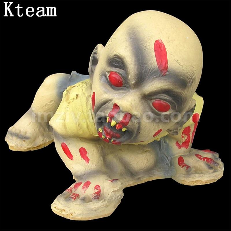 Зомби эмульсия для лица младенца Хэллоуин призрак Висячие реквизиты Хэллоуин реквизит Хэллоуин украшения страшный кулон хитрый бар реквиз...