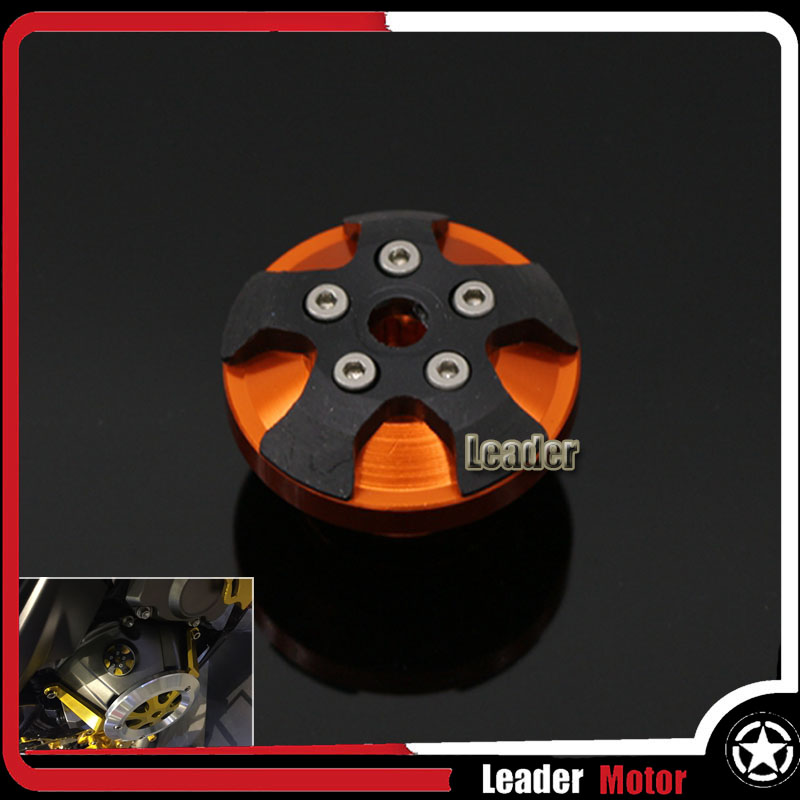 For Triumph DAYTONA 675/ 675R STREET TRIPLE/STREET TRIPLE 09 TIGER800/EXPLORER Motorcycle Oil filler Cap M20*2.5 Orange for triumph tiger 800 tiger 1050 tiger explorer 1200 easy pull clutch cable system
