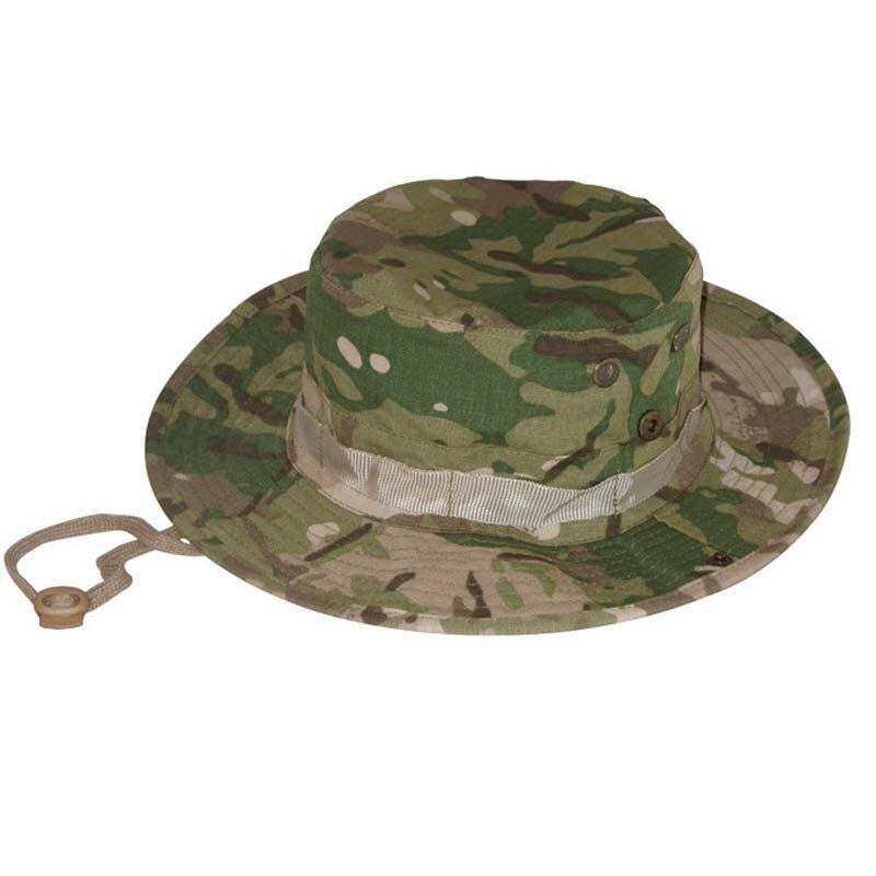 Prix pour Militaire Camouflage Tactique Chasse Sniper Boonie Chapeaux Airsoft Camping Randonnée Pêche Chapeaux Accessoires De L'armée