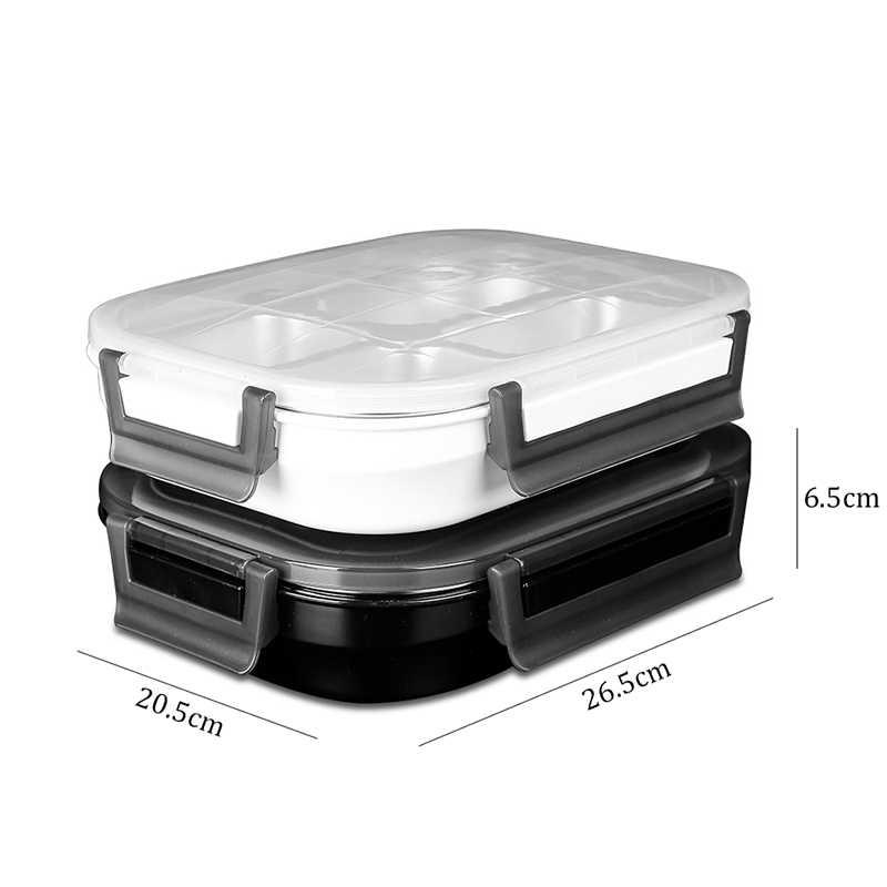 TUUTH 304 Aço Inoxidável Caixa de Almoço Portátil À Prova de Fugas para Crianças Escola Recipiente De Alimento Com O Conjunto de Saco de Mesa de Piquenique