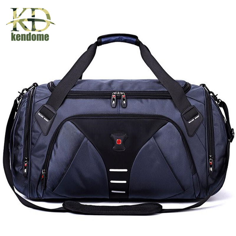 Large Multi-function Sports Gym Bag Men Women Training Fitness Handbag With Shoes Pocket Waterproof Outdoor Travel Shoulder Bags sports bag gym bag fitness sport bags travel shoulder waterproof sports handbag women outdoor shoulder fitness gym bag black