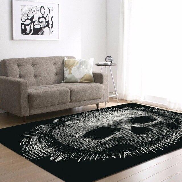 Creative Europe Type 3D Sugar Skull Carpet Hallway Doormat