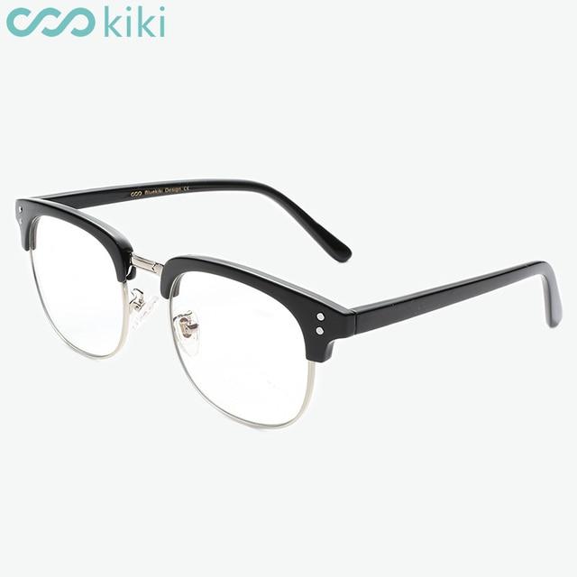 KIKI New Eyewear Anti Blue Rays Retro Round Glasses Women Men ...