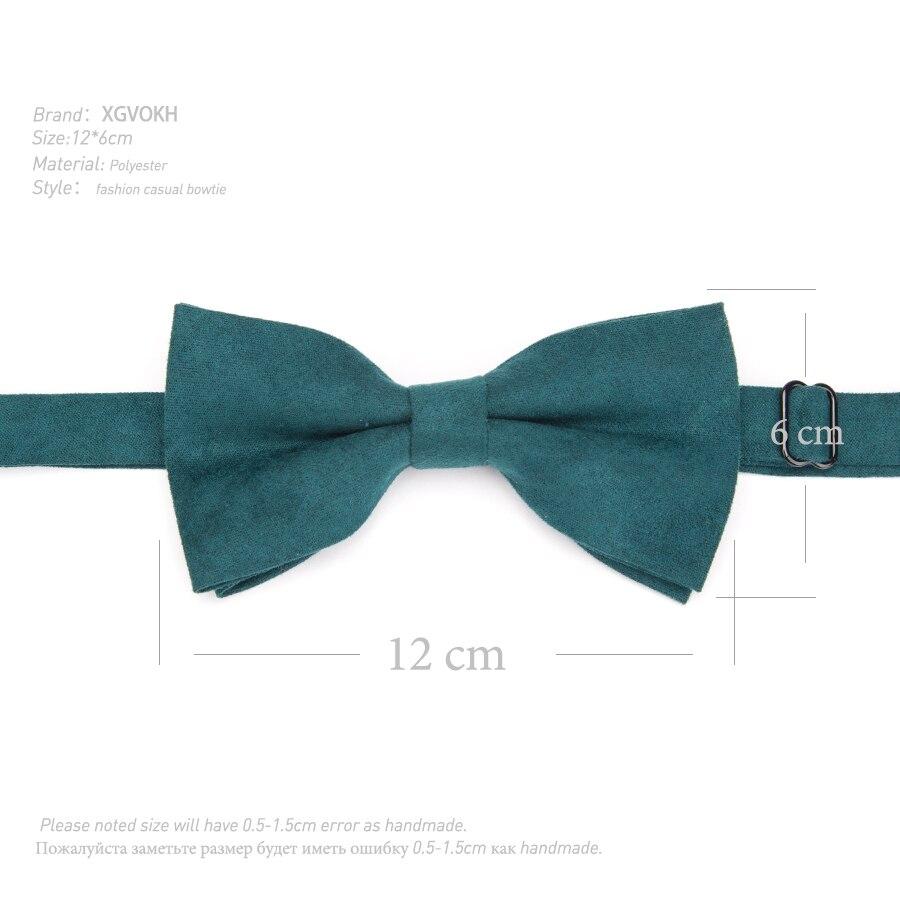 Fashion Men Bow Tie Candy Solid Wedding Necktie Mens Parties Dress Bowtie Boy Cravats Business Accessories Gravatas Para Homens 1
