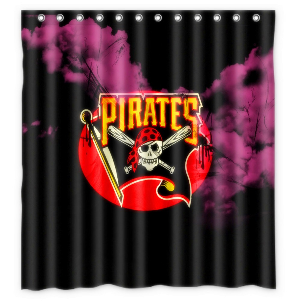 Pirate shower curtain - Anime Shower Curtain One Piece Dragon Ball Z Bleach Fairy Tail Naruto Together Pittsburgh Pirates Shower