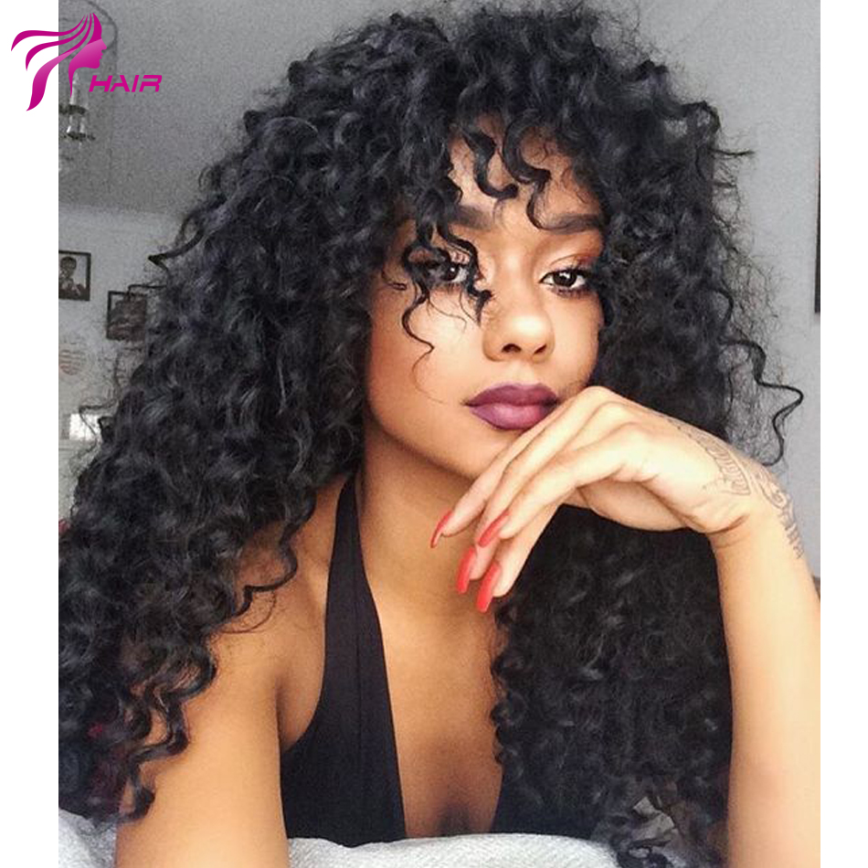 Silk Top Full Lace Wigs For Black Women Free Part Full