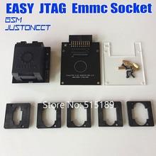 Original novo fácil jtag plus caixa emmc soquete (bga153/169, bga162/186, bga221, bga529)