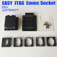 Original New EASY JTAG PLUS BOX EMMC Socket BGA153 169 BGA162 186 BGA221 BGA529