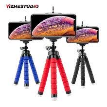 Yizhestudio штатив para movil мини-штатив Гибкий губчатый штатив-Осьминожка для Gopro para камера настольная для iPhone samsung клип