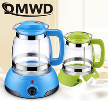 DMWD Baby Milk bottle Heater sterilizer Tea Coffee Warmer Thermal Insulation electric kettle seat Thermostat glass boiler cup EU