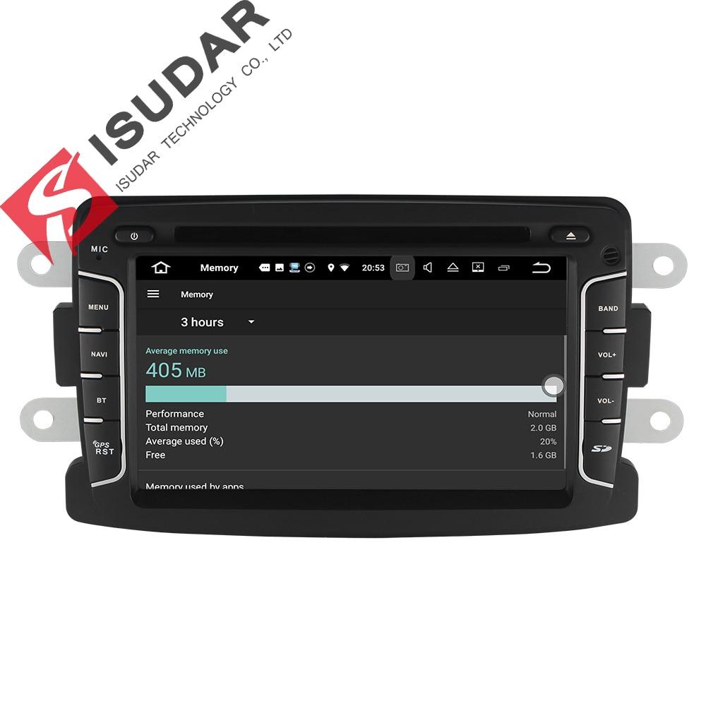 Isudar Auto Multimedia player Android 7.1.1 Autoradio 2 Din Für ...