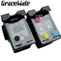 Refillable Ink Cartridge replacement for HP 129 135 Photosmart C4110 C4140 C4150 C4170 C4173 C4175 C4180 C4183 C4188 C4190