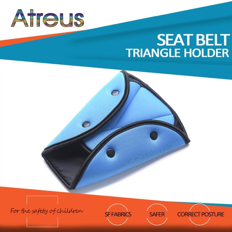 Atreus Car Safety Belt Adjust Child Protection Device For Hyundai I30 IX35 Nissan Juke Subaru Suzuki Vitara Swift Opel Insignia