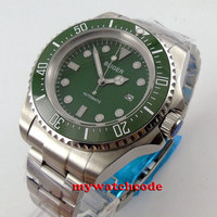 Big face 44mm bliger green dial Ceramic Bezel automatic movement mens watch B70
