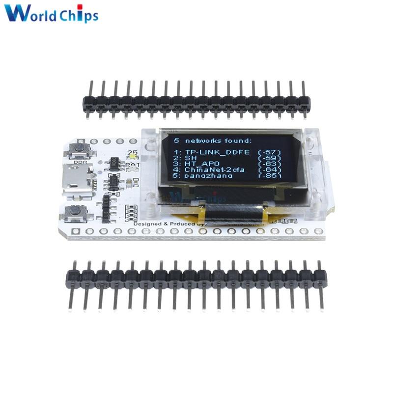 "ESP32 OLED WiFi Kit ESP-32 0.96/"" OLED Display WiFi+Bluetooth Development Board"