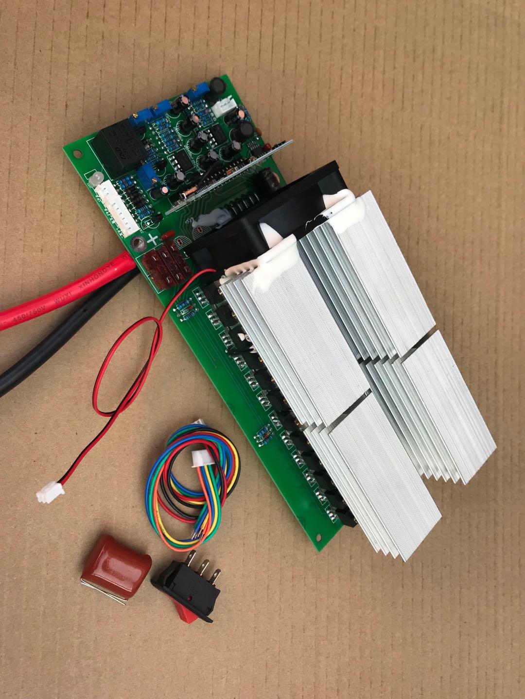 24V 36V 48V 60V1000W 2000W 3000w 5000w Pure Sine Wave Power Frequency Inverter Motherboard 24v 36v 48v 60v 1kw to 5kw pure sine wave power frequency inverter motherboard circuit board pcb motherboard