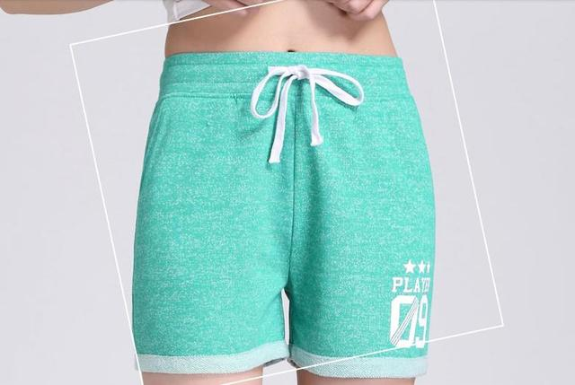 New Fashion Summer Shorts Female Cotton Candy Color Shorts Korean Edition Show Thin Loose Women Leisure Casual Shorts Orange