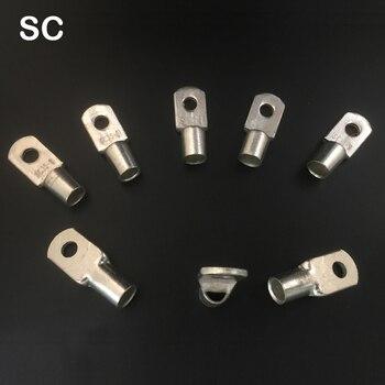 1 шт. SC240-14 SC240-16 Оловянная Медь 14 мм 16 мм отверстие для болтов 240мм2 кабельный провод наконечник Батарейный разъем обжимной терминал