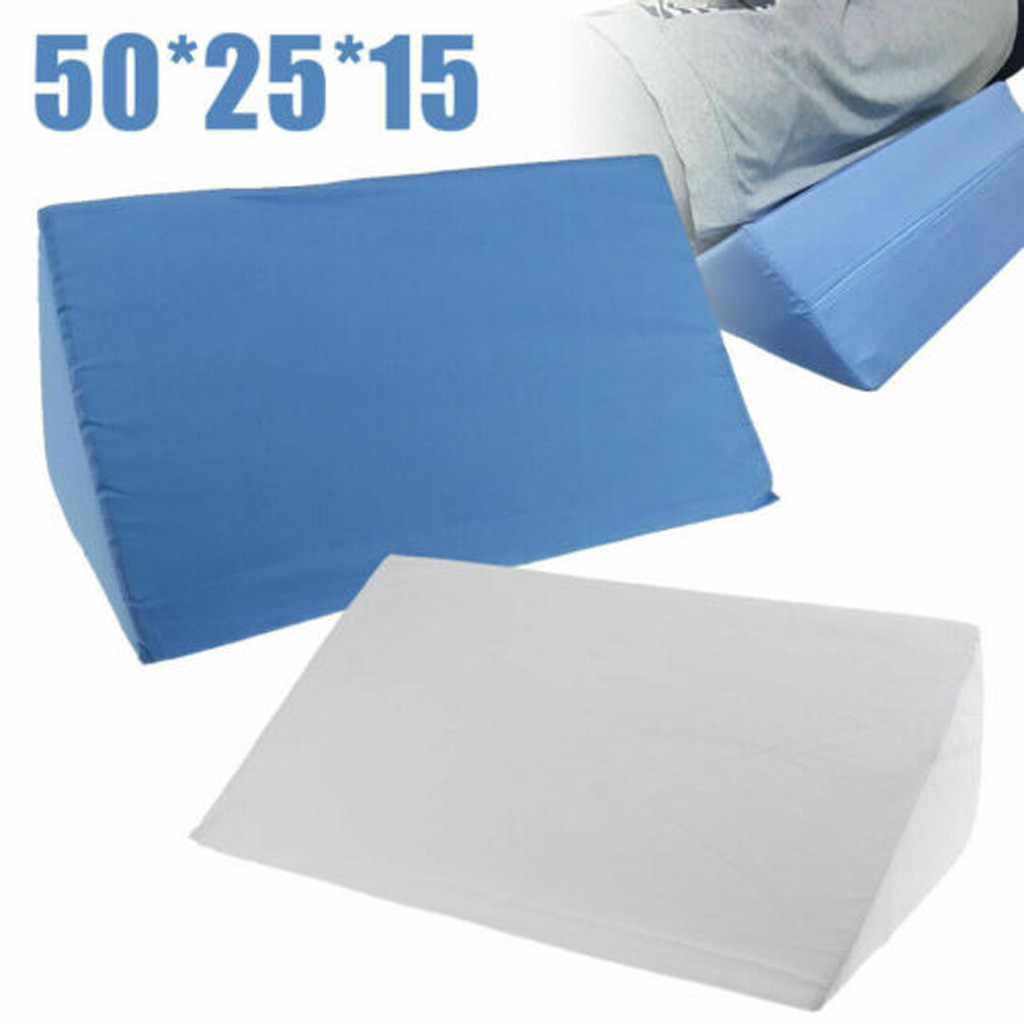Bed Wedge Pillow For Lover And Sleeping, Supportive Foam Pillow For Head, Foot, Or Leg Elevation Cushion 4.366