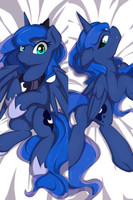 Japan Anime Hugging Body Pillow Case 150 50 My Little Pony Princess Luna