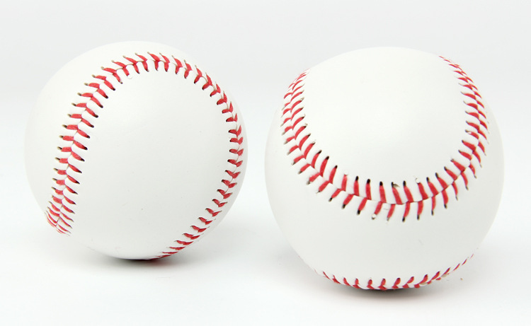 2 шт./партия, мужской бейсбольный мяч, спортивный стандартный, мягкий тип, тренировочный мяч, мягкие заполненные мячи для упражнений, бейсбольная бита из твердого сплава