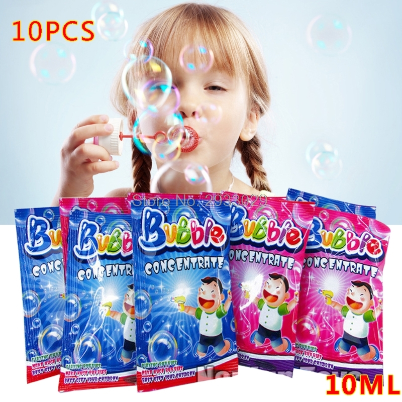 10pcs Bubble Liquid 100ml Concentrate Bubbles Liquid Soap Water Bubble Gun Accessories Bubble Water BC0813 Drop Shipping