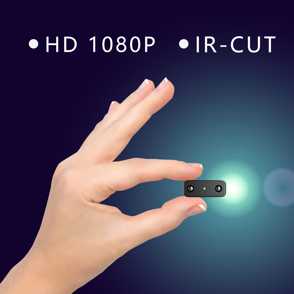 Newest IR-CUT Mini Camera Smallest 1080P Full HD Camcorder Infrared Night Vision Micro Cam Motion Detection DV Spycam