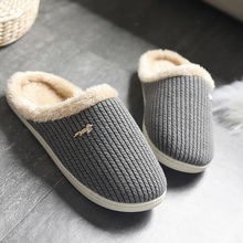 Slipper woman 2019 Arrivals Non slip Bedroom slippers Short Plush Warm Winter Soft Sweat-Absorbant Ladies