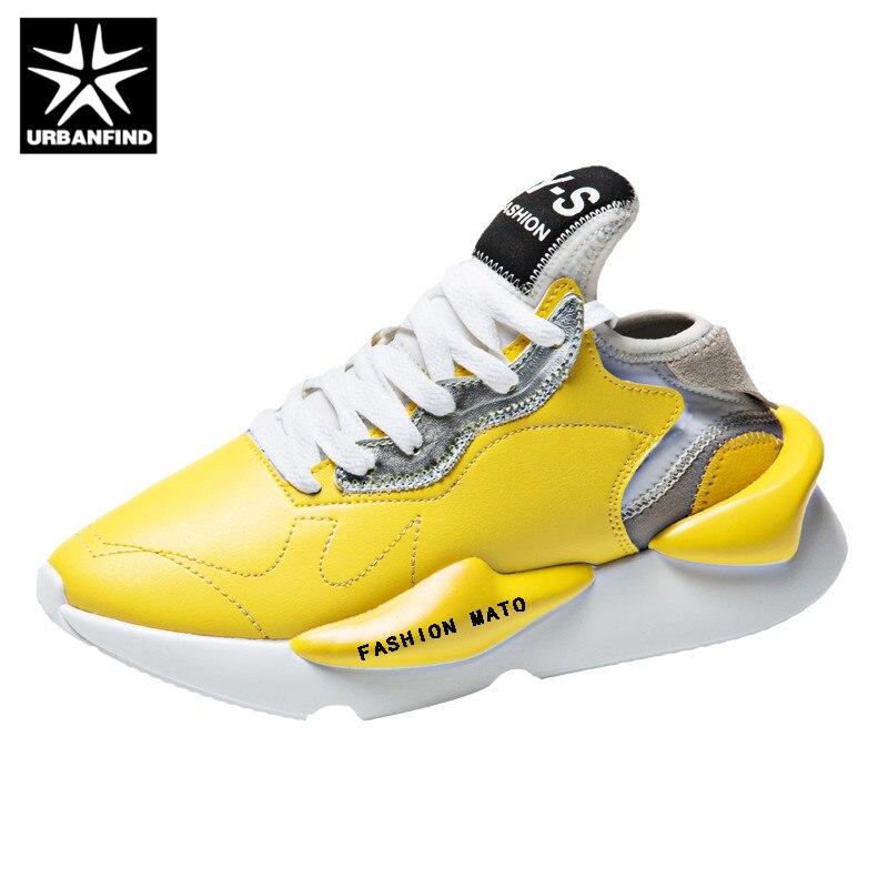 Das Sapatos Masculinos De Barco Mocassins Dos Moda Urbanfind Sapatilhas Black Da Luxo Outono Homens Primavera yellow Marca Couro Calçados white Casuais 4qa4gOCZ