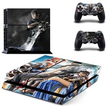 Game Sword Art Online SAO PS4 Skin Sticker Decal Vinyl for Sony Playstation 4 Console and Controller PS4 Skin Sticker