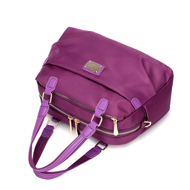 62e00d664b KVKY Women Boston bag Waterproof Nylon Handbags Ladies Messenger Bags  Casual Women Crossbody Bag Travel Shoulder Bag Tote bolsas