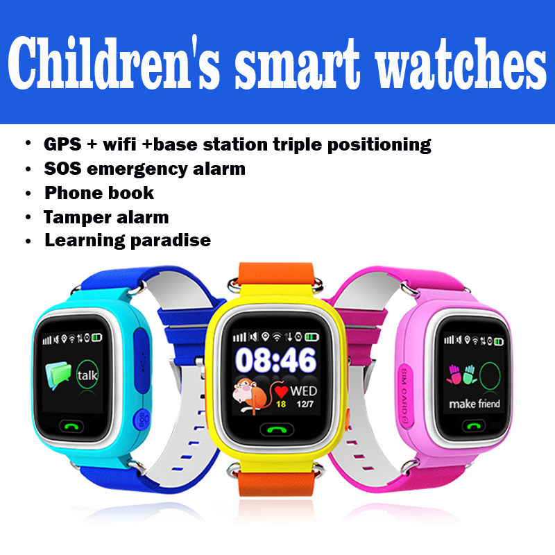 Children's smart watches F523 compatible with IOS and Android SIM card can be in
