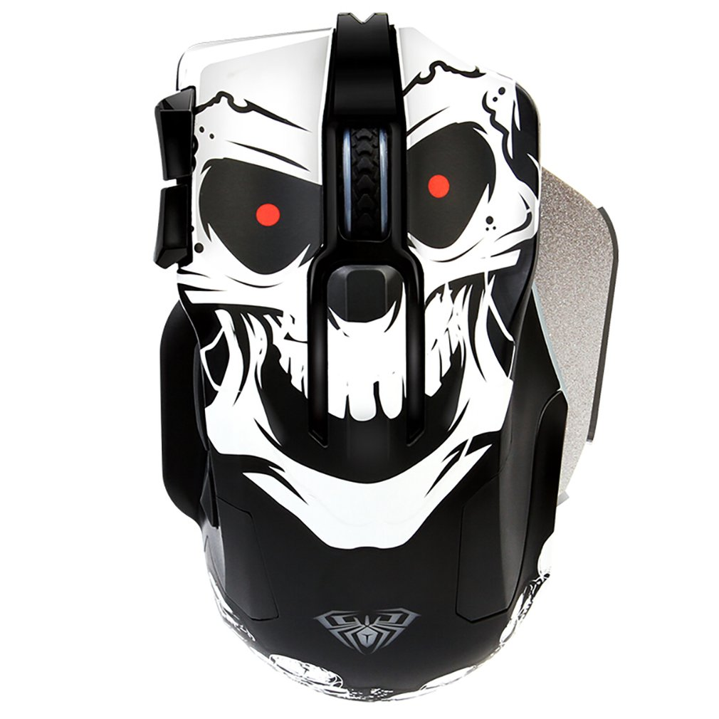 10 Keys Gaming Mouse Gamer Laptop PC Mice Mechanical USB Wired Fashion Design Desktop Computer Peripherals