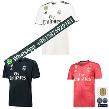 4cf314a79 2018 madrid Benzema ASENSIO Modric Kroos Sergio Ramos Bale Marcelo 18 19  Champions League Real Madrid shirts