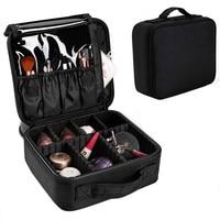 SAFEBET Brand Men Women Beauty Professional Organizer Cosmetic Bag Large Waterproof Portable Travel Necessary Cosmetic Box
