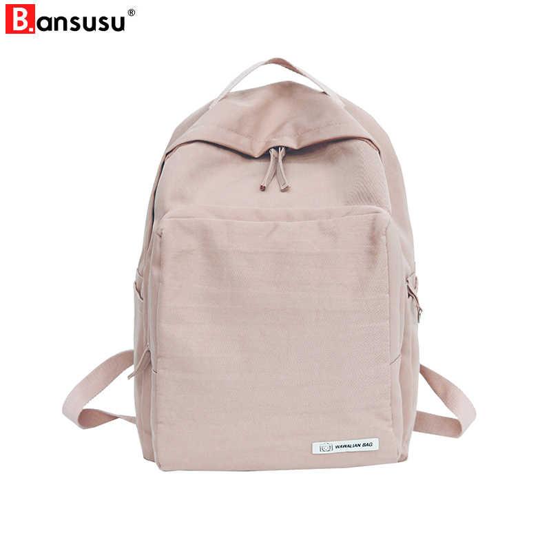 3d9de61d0c81 Women Backpacks Korean Style New 2019 Harajuku Ulzzang Travel Backpack  Waterproof High School Bag for Teenager