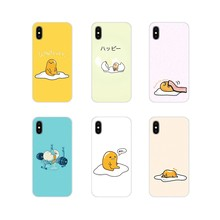 Accesorios funda de teléfono para Samsung Galaxy S3 S4 S5 Mini S7 S6 Edge S8 S9 S10 Lite Plus Note 4, 5, 8 9 kawaii amarillo huevo(China)