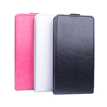 Flip Phone Bag Case For Philips W3568 Leather Wallet Mobile