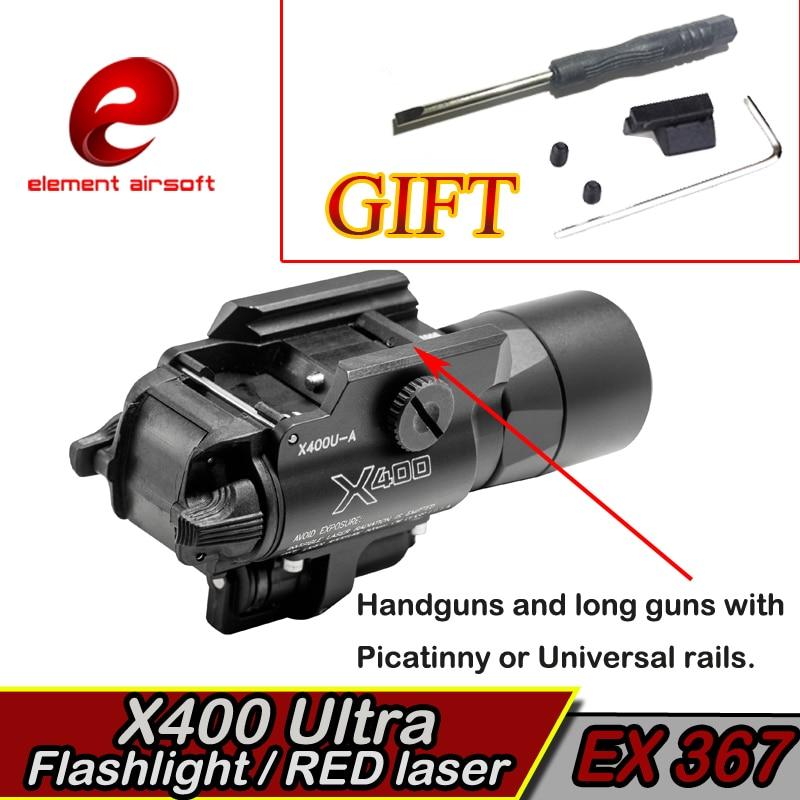 Element X400 Ultraljubičasta Taktička svjetla laser Picatinny - Lov - Foto 6